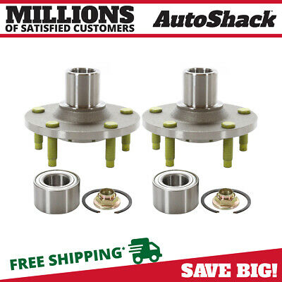 2 NEW PREMIUM FRONT WHEEL HUB BEARING REPAIR KITS PAIR/SET fits LEFT AND RIGHT