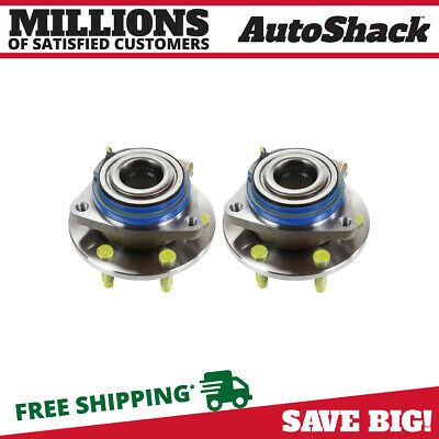 2 New Premium Front Wheel Hub Bearing Assembly Units Pair/set For Left And Right