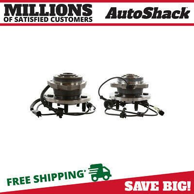 Pair of 2 New Front Wheel Hub Bearing Assembly with ABS fits 02-07 Jeep Liberty