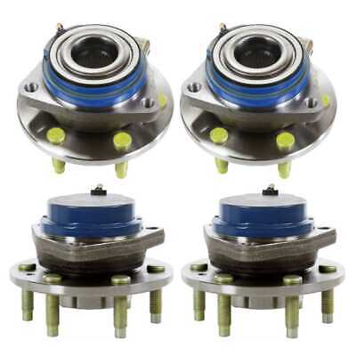 Set of (4) Wheel Hub Bearings fits Buick Terraza Chev Uplander Pontiac Montana