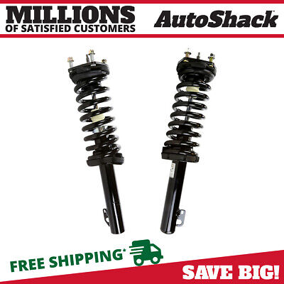 Pair of Front Complete Struts fits Jeep 06-10 Commander 05-10 Grand Cherokee