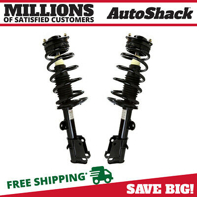 Front Pair (2) Complete Struts Assembly w/coil springs Fits 08-14Town Country
