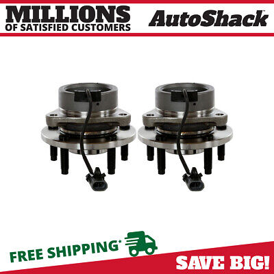 Front Pair (2) Wheel Hub Bearing Assembly For 05-10 Chevrolet Cobalt w/ABS 5 Lug