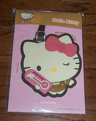 BRAND NEW Limited Edition HELLO KITTY 40th Anniversary COLOR CHANGE Luggage Tag