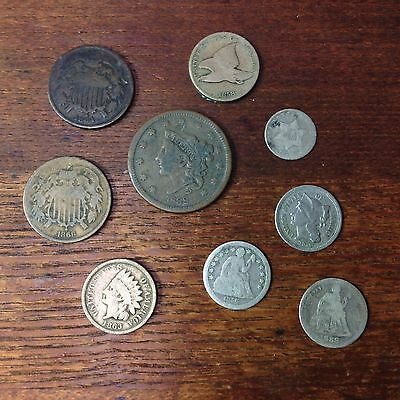 Grandpappys Old Type Coin Coin Lot Cool Mix Of US Type Coins Mixed Coin Collect,