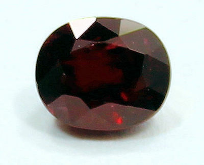 Eye Catching 1.15 Carat Oval Cut  Red Ruby