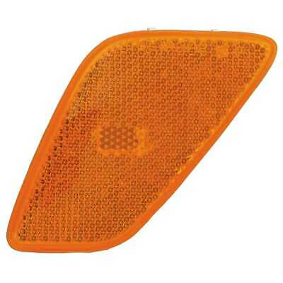 New Prime Choice Left Driver Side Marker Lamp w/o Bulb fits 97-06 Jeep Wrangler