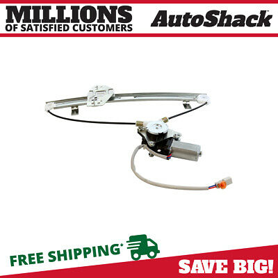 New Rear Passengers Side Power Window Regulator with Motor fits 01-06 Acura MDX