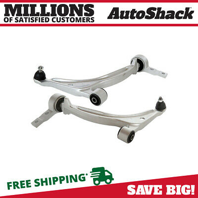 2 Front Lower Control Arms w/ Bushings and Ball Joints fits Nissan Altima Maxima