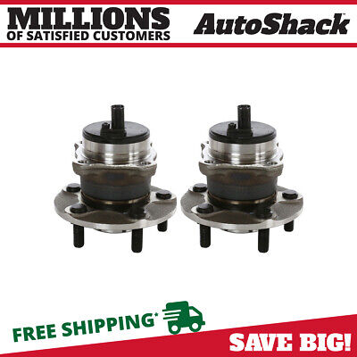 Rear Pair (2) Wheel Hub Bearing Assembly For 06-13 Volvo C70 07-13 C30 05-11 S40