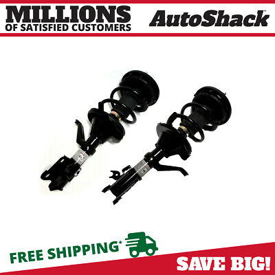 Front Pair (2) Complete Struts Assembly w/coil springs Fits 2002-2006 Honda CR-V