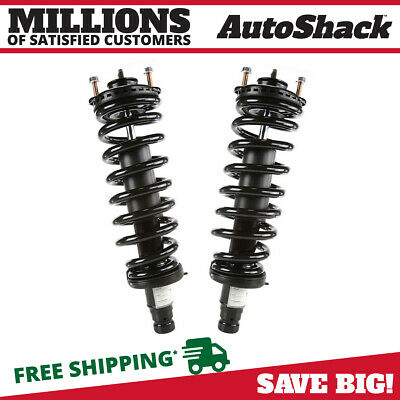 New Pair of 2 Front Complete Strut Assemblies For Chev Olds GMC Buick Isuzu Saab