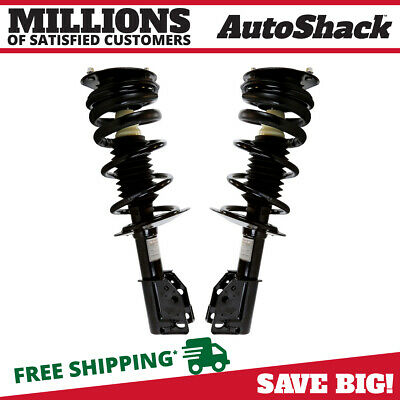 Front Pair (2) Complete Struts Assembly w/coil and springs Fits 99-05 Cavalier
