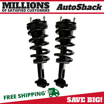 Front Pair (2) Complete Struts Assembly w/coil springs Fits 07-12 Silverado 1500