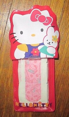 VINTAGE SANRIO Japan HELLO KITTY BAND-AID 1976-1997 STERILE BANDAGES Vinyl Pouch