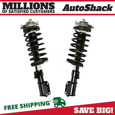 Front Pair (2) Complete Struts Assembly w/coil springs Fits 1998-2004 Volvo C70