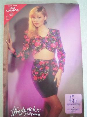 Frederick's of Hollywood Catalog 1991 Vol No 73/Issue 363