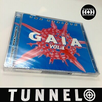 "Gaia Vol. 1 ""the Rebirth"" Tunnel Psy-Trance 2Cd Compiler"
