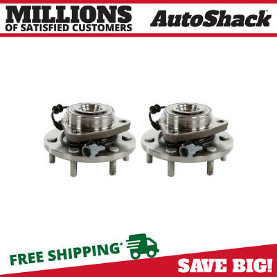 Front Hub Assembly Pair for 2008-2012 Nissan Titan Armada 2008-2010 QX56 4WD