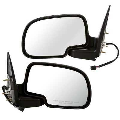 New Pair Left & Right Power Heated Side Mirror w/ Light For Chev Tahoe GMC Yukon