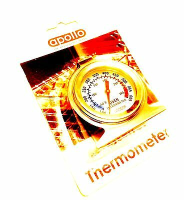 Oven Thermometer Cooking Kitchen Stainless Steel Catering Meat New Baking