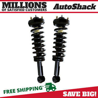 Complete Front Pair (2) Strut & Spring Quick Assembly  fits 09-12 Ford F150 4WD