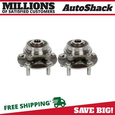 Front Hub Assembly Pair for 2003-2006 2007 Infiniti G35 2003-2009 Nissan 350Z