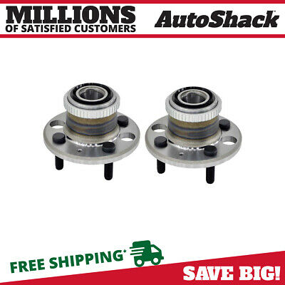 2 NEW PREMIUM REAR WHEEL HUB BEARING ASSEMBLY UNITS PAIR/SET fits LEFT AND RIGHT