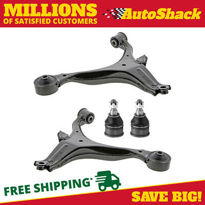 Set of Four (4) Front Lower Control Arms and Ball Joints fits 01-05 Honda Civic