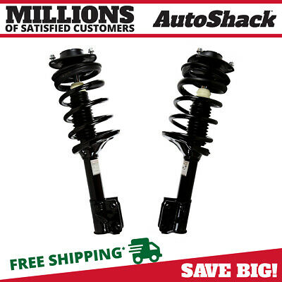 Front Pair (2) Complete Strut Assembly w/Coil Spring Fits 2005-2010 Kia Sportage
