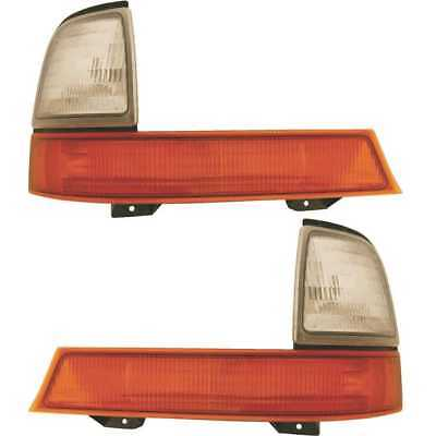 [PAIR] PARK LIGHTS LEFT AND RIGHT SIDE LIFETIME WARRANTY fits FORD RANGER