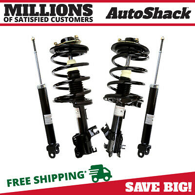 Set of Front Complete Struts and Rear Shock Absorbers fits 02-06 Nissan Altima