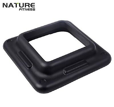 Nature Fitness Adjustable Aerobic Exercise Step Block Fitness Bench Pair Weights