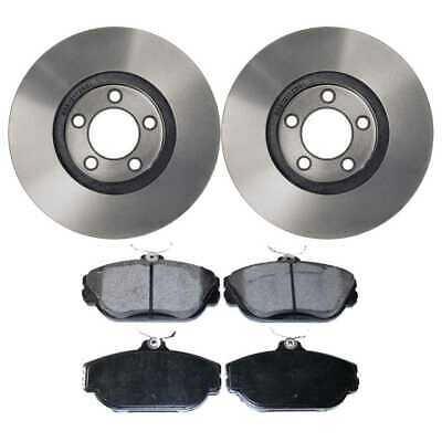 Front Set of Premium Rotors & Ceramic Pads fits Ford Lincoln Mercury
