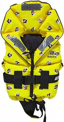 Baltic Pirate 100N Children's Solids Life jacket (Mod.1285) with Pirate Print