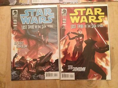 Star Wars Lost Tribe of the Sith: Spiral Complete lot 1-5