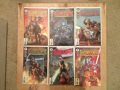 Star Wars Shadows of the Empire Complete lot 1-6