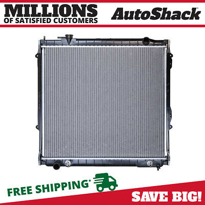 New Direct Fit Complete Aluminium Radiator for 95-04 Toyota Tacoma 2.7 L4 3.4 V6