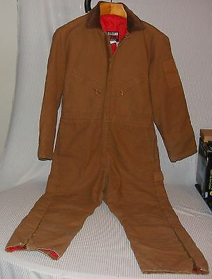 Medium Regular 38-40 WALLS BLIZZARD PRUF Insulated Coveralls Zip JumpSuit suit