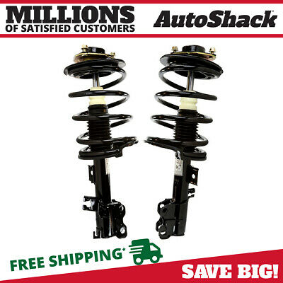 2 Quick Install Complete Strut Assemblies Fits Front 02-06 Nissan Altima