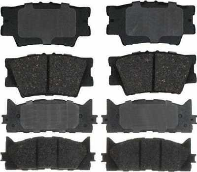 Front & Rear Set Performance Ceramic Disc Brake Pads With Lifetime Warranty