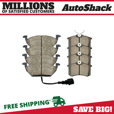 Front and Rear Ceramic Brake Pads for 2000-2006 Golf Jetta 2000-2010 Beetle