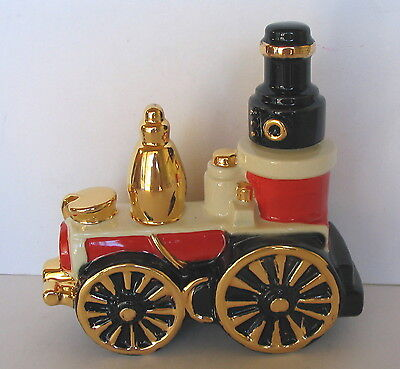 """Great Chicago Fire 1871 Horse Drawn Steam Engine """"little Giant"""" Brooks Decanter"""
