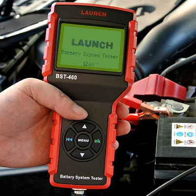 LAUNCH BST-460 12V Digital Car CCA Battery Load Tester bst 460 Diagnostic Tool