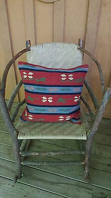 """~Gorgeous 20"""" Turkish Rug Kelim Kilim Cover Woven Throw Pillow ~MUST SEE!!!!!!~"""