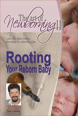 SeCrIsT ThE ArT oF RoOTiNg YoUr ReBoRn BaBy DVD ~ REBORN DOLL SUPPLIES
