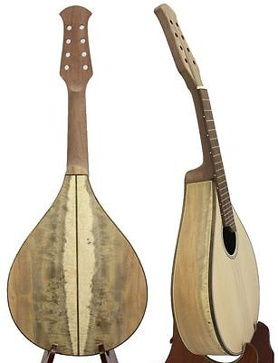 Flat back Mandolin KIT Solid Spruce & CURLY Acacia KOA, Accessories :VNMI12-14
