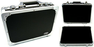 CNB - Pedal road case with removable lid. Aluminium binding