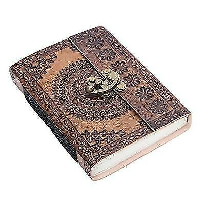 Store Indya Handmade Genuine Leather Personal Diary Writing Book Journal With