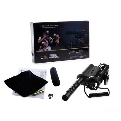 New SGC-598 Mic Microphone Photography Interview Camera DV For Nikon Canon Sony